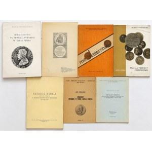 Medale - zestaw 7 szt. publikacji
