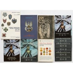 Broszury, ordery i odznaczenia (10szt)