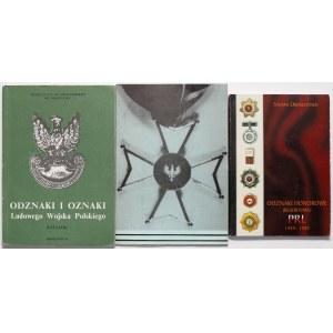 Odznaki i odznaczenia PRL (3szt)