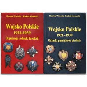 Wojsko Polskie - odznaki Kawalerii i Piechoty (2szt)