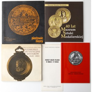 Medale - zestaw 5 szt. publikacji