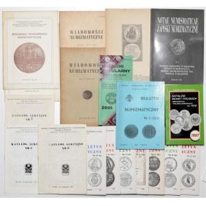 Zestaw literatury, głównie różne czasopisma (19szt)