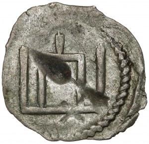 Litwa, Witold, Denar litewski, Wilno (1413-1430) - Kolumny Giedymina