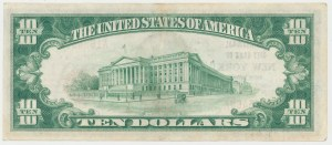 National Currency 10 Dollars 1929, New York #1461