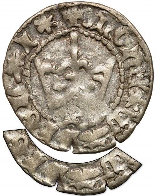 Władysław II Jagiełło, Półgrosz Kraków - typ 1 - litera P - BŁĄD