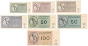 Czech Republic, Terezin Ghetto 1 - 100 Kronen 1943 (7pcs)