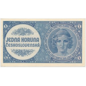 Czechoslovakia, 1 Korun (1946)