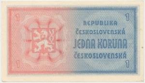 Czechosłowacja, 1 Koruna (1946)