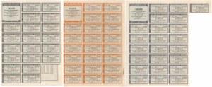 4% Poż. Konsolidacyjna 1936, Obligacje 50-1.000 zł (3szt)