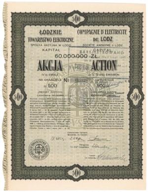 Łódzkie Towarzystwo Elektryczne, Em.4, 500 zł