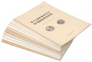 Wiadomości numizmatyczne 1981-1985 (11szt)