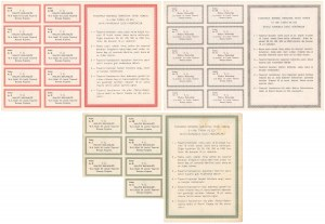 Turcja - zestaw obligacji 2x 10 i 50 lira (3szt)