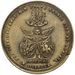 Medal na pamiątkę Unii w Horodle 1861