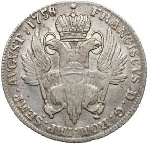 Hamburg-Stadt, z.Z. Franz I., 32 Schilling 1758 IHL