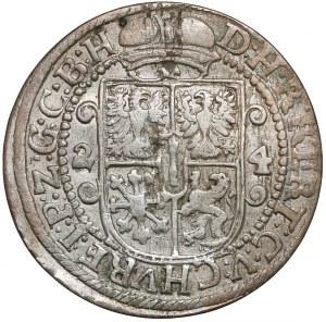 Prusy, Jerzy Wilhelm, Ort Królewiec 1624