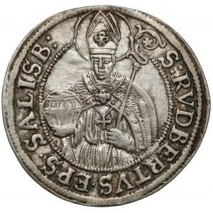 Austria, Salzburg, Max Gandolf von Kuenburg, 3 krajcary 1682