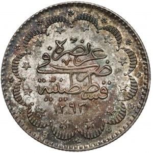 Turcja, Abdülhamid II, 10 Kurus 1876, Istanbul