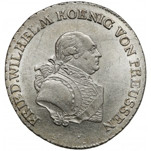 Preussen, Friedrich Wilhelm III, 1/3 Taler 1797-E, Königsberg