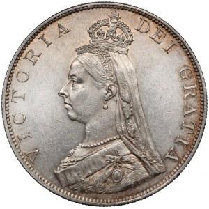 Wielka Brytania, Wiktoria, Podwójny Floren 1887