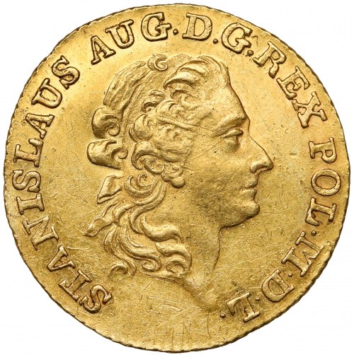 Poniatowski, Dukat 1792 M.V. - rzadki i bardzo ładny