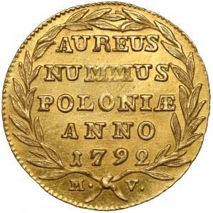 Poniatowski, Dukat 1792 M.V.