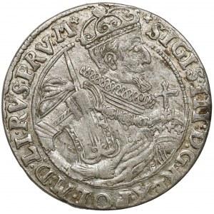 Zygmunt III Waza, Ort Bydgoszcz 1623 - korona cieniowana