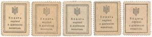 Ukraine, 10 - 50 Shagiv 1918 (5pcs)