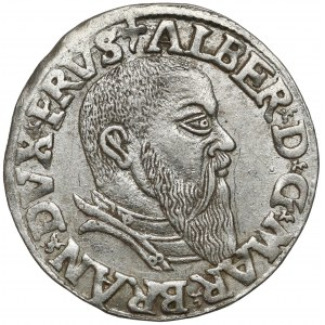 Prusy, Albrecht Hohenzollern, Trojak Królewiec 1543