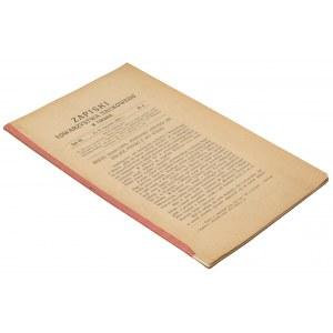 Zapiski Towarzystwa Naukowego w Toruniu, tom VII, 1926