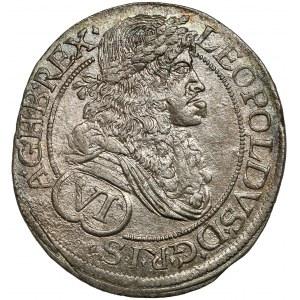 Austria, Leopold I, 6 krajcarów 1682, Wiedeń