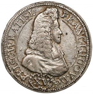 Śląsk, Franciszek Ludwik, 15 krajcarów 1693 LPH, Nysa