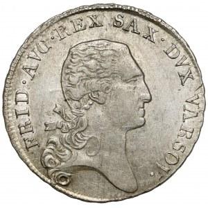 Księstwo Warszawskie, 1/3 talara 1811 IS - piekna