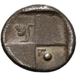 Grecja, Tracja, Chersonez, Hemidrachma (480-350 pne) - ex. Karel CHAURA