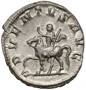 Trajan Decjusz (249-251 n.e.) Antoninian - ex. Karel CHAURA