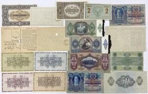 Węgry, zestaw banknotów (18szt)