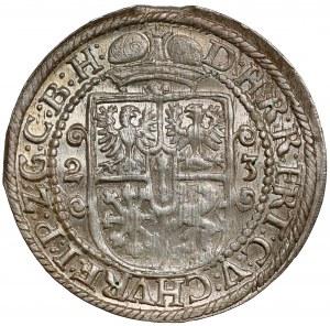 Prusy, Jerzy Wilhelm, Ort Królewiec 1623