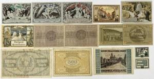 Niemcy, zestaw notgeldów MIX (20szt)