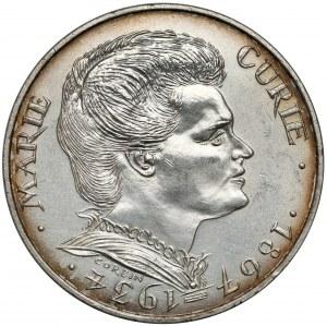 Francja, 100 franków 1984 - Marie Curie Skłodowska