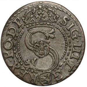 Zygmunt III Waza, Szeląg Kraków 1601 - litera K