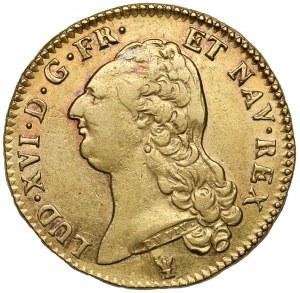 Francja, Ludwik XVI, 2 louis d'Or 1786-I, Limoges