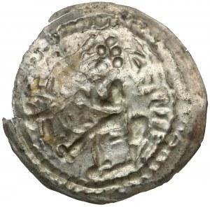 Mieszko III, Brakteat łaciński - Książe na koniu