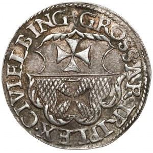 Zygmunt I Stary, Trojak Elbląg 1540 - bardzo ładny