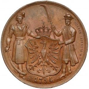 Medal 100. rocznica Insurekcji Kościuszkowskiej 1894 (Głowacki)