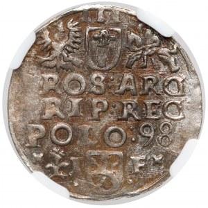 Zygmunt III Waza, Trojak Wschowa 1598 - menniczy