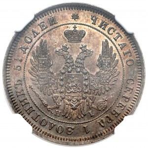 Rosja, Mikołaj I, 25 kopiejek 1848 HI
