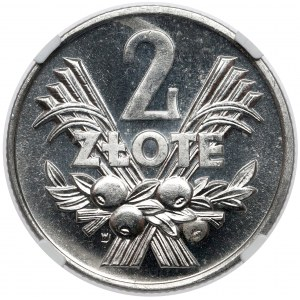 PROOF LIKE 2 złote 1970 - jak lustrzanka