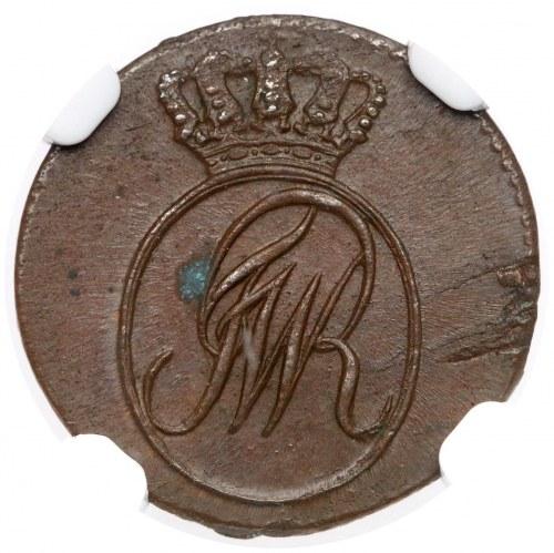 Szeląg Wrocław 1797-B dla Prus Południowych - piękny