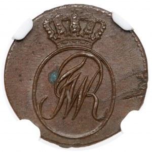 Prusy Południowe, Szeląg 1797-B, Wrocław - PIĘKNY