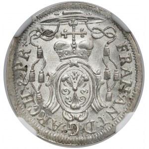 Austria, Salzburg, 4 krajcary 1719 - MENNICZE