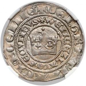 Czechy, Wacław II Czeski (1278–1305), Grosz praski - menniczy